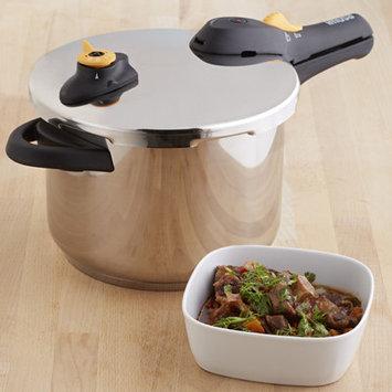 Imusa GlobalKitchen 6.2-Quart Stainless Steel Pressure Cooker