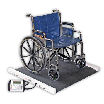 Detecto Portable Bariatric Wheelchair Scale