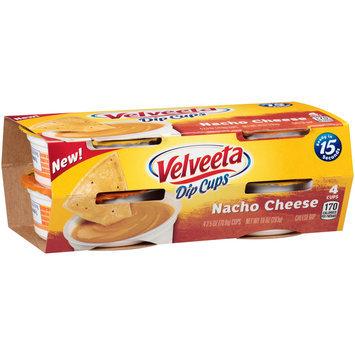 Velveeta Dip Cups Nacho Cheese Dip 4-2.5 oz. Cups