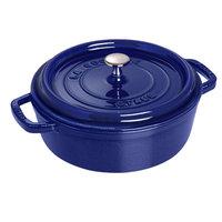 Staub Round 7 qt. Cocotte in Dark Blue