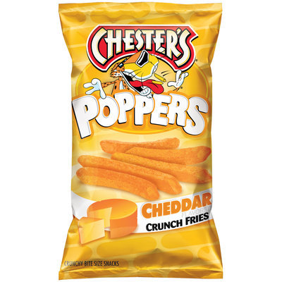 Chester's® Poppers Cheddar Crunch Fries 4.5 oz. Bag