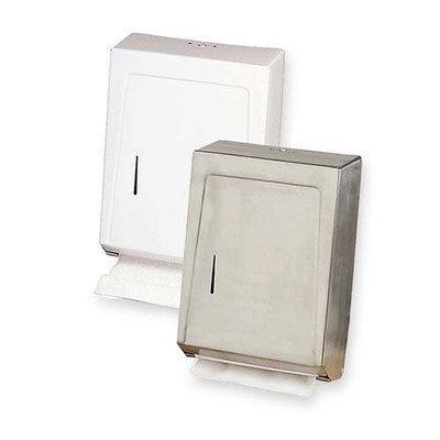 Genuine Joe C-Fold/Multi Towel Cabinets, Stainless steel
