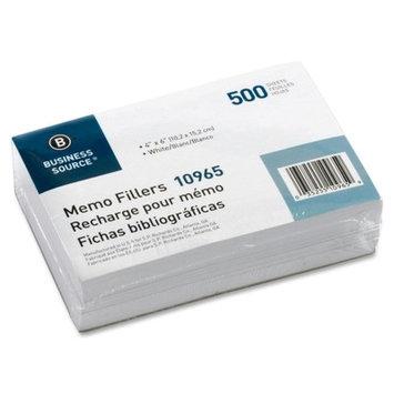 Business Source Memo Filler Sheet