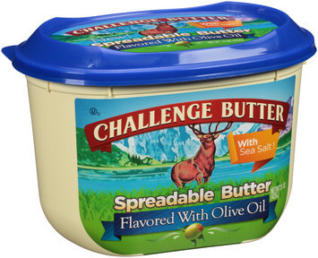 Challenge Butter® Spreadable Butter Flavored with Olive Oil 15 oz. Tub