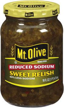 Mt. Olive Reduced Sodium Sweet 16 oz