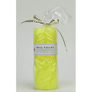 Mill Valley Candleworks Meyer Lemon Scented Pillar Candle Size: 5