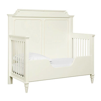 Stanley Clementine Court Built-to-Grow Toddler Bed Kit Finish: Frosting