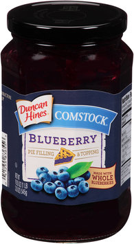 Duncan Hines® Comstock® Blueberry Pie Filling & Topping 19.25 oz. Jar