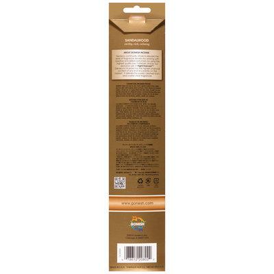 Gonesh® Extra Rich® Sandalwood Incense Sticks 20 ct Pack