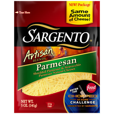 Sargento® Artisan Blends® Shredded Parmesan Cheese