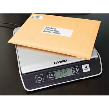 DYMO by Pelouze PS20DL Internet Downloadable Electronic Postal Scale 20lb 71/2 x 81/2 Platform