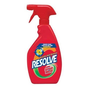Resolve Spray'n Wash Laundry Stain Remover, 22 oz, 12/Case