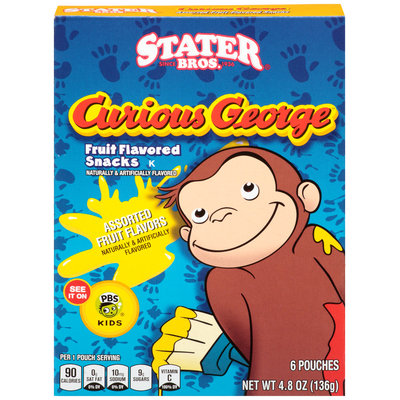 Stater Bros.® Curious George™ Assorted Fruit Snacks