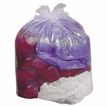 Genuine Joe Super Hexene Clear Trash Can Liners