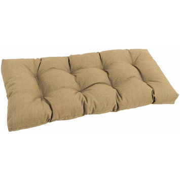 Blazing Needles 42-in L x 19-in W Sandstone Bench Cushion 94006-LS-REO-S7-ST