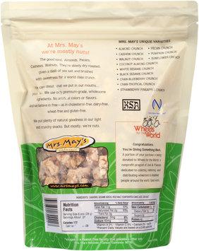 Mrs. Mays® Cashew Crunch Slow Dry-Roasted Snack 20 oz. Stand Up Bag