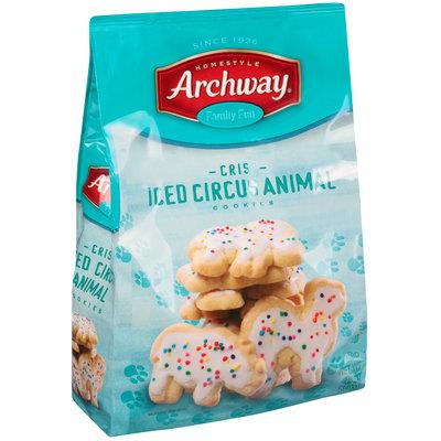 Archway® Crisp Iced Circus Animal Cookies 12 oz. Bag