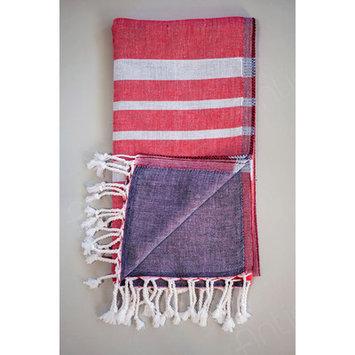 Antiochia Alya Bath Towel Color: Red