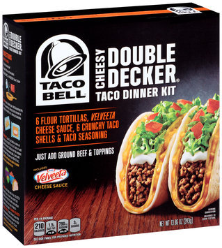 Taco Bell® Soft Taco Dinner Kit 10 ct