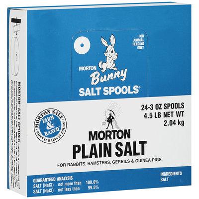 Morton® Plain Bunny Salt Spools® 24-3 oz. Spools