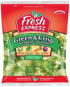Fresh Express® Green & Crisp Salad 20 oz. Bag