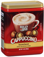 Hills Bros.® Cappuccino Drink Mix Hazelnut 14 oz. Canister