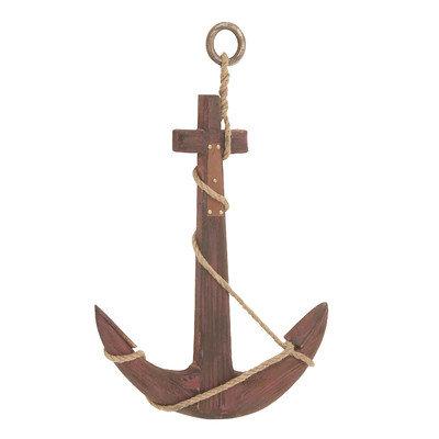 Benzara 78777 Wood Rope Anchor