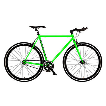 Big Shot Bikes Ibiza Single Speed Fixed Gear Road Bike Size: 52cm