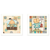 Trendy Decor 4u Bernadette Demming 'Nursery Pictures' Framed Print Art