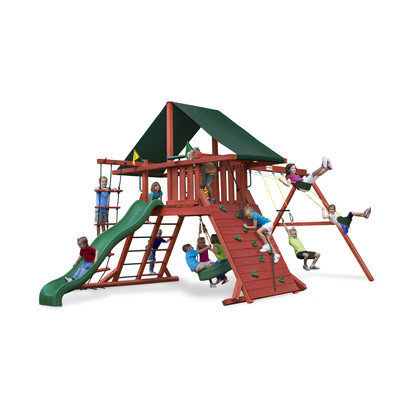 Gorilla Playsets Sun Climber I CG Swing Set Kit