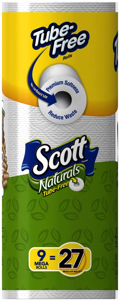 Scott® Naturals Toilet Paper 9 ct Pack
