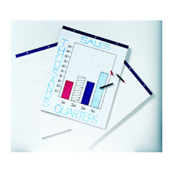 Pacon Creative Products Pacon Corporation Easel Pad, Perforated, Unruled, 27x34