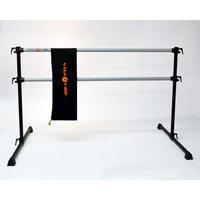 Vitavibe Professional Series Double Bar Ballet Barre n Bag Kit Size: 4 ft.