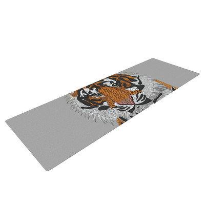 Kess Inhouse Tiger by Art Love Passion Yoga Mat