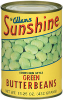 The Allens Sunshine Southern Style Green Butter Beans 15.25 Oz Can