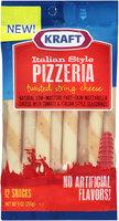 Kraft Italian String Pizzeria Twisted String Cheese 12 ct Bag