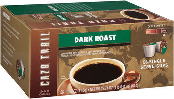 Caza Trail® Dark Roast Coffee 56-0.40 oz. Cups