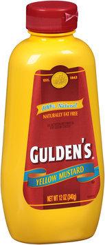Gulden's® Yellow Mustard 12 oz. Bottle