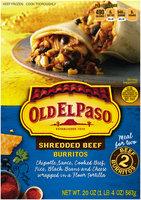 Old El Paso® Shredded Beef Burritos