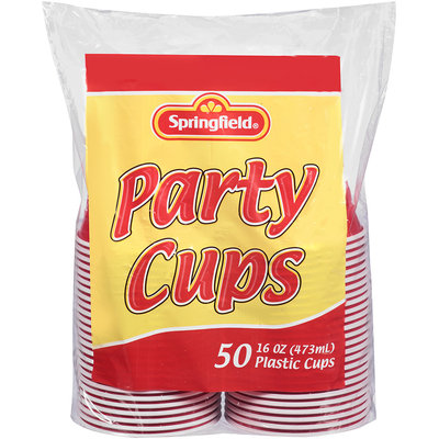 Springfield® Party Plastic Cups