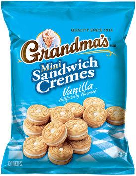 Grandma's® Vanilla Mini Sandwich Cremes Cookies 3 oz. Bag