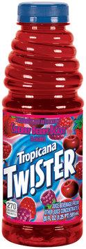 Twister Cherry Berry Blast Juice Beverage 20 Oz Plastic Bottle
