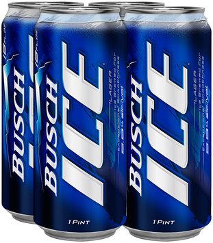 Busch Ice Beer, 4 pk 16 fl. oz. Cans