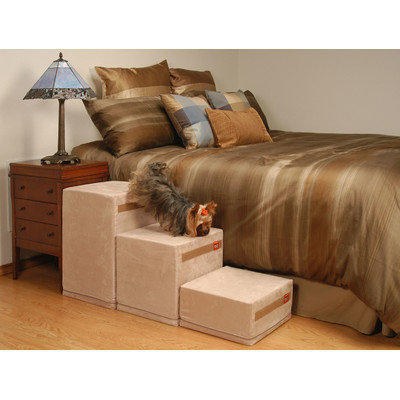 Royalramps 21 Tall 3 Step Pet Stair, Oyster