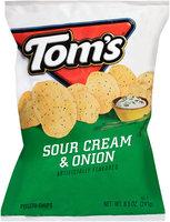 Tom's® Sour Cream & Onion Potato Chips 8.5 oz. Bag