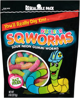 Nuclear Sqworms™ Sour Neon Gummi Worms