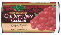 Haggen Cranberry Juice Cocktail 12 Oz Can