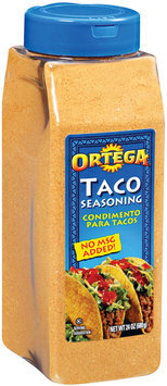 Ortega Taco Seasoning 24 Oz Plastic Container