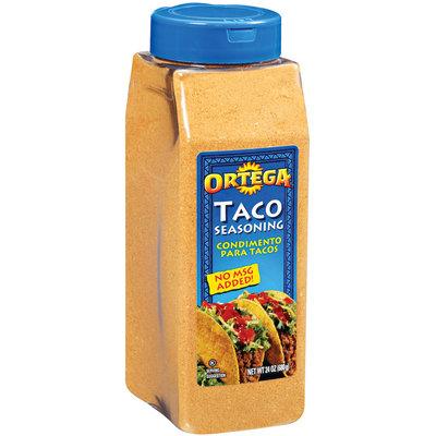Ortega Taco Seasoning 24 Oz Plastic Container