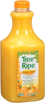 Tree Ripe® Premium Natural 100% Orange Juice 59 fl. oz. Plastic Bottle